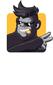 Block Ape Scissors logo